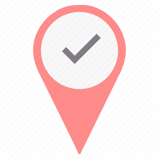 correct, direction, location, navigation, path, right, sign icon