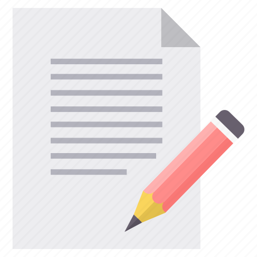 document, documents, file, paper, sign, signature, write icon