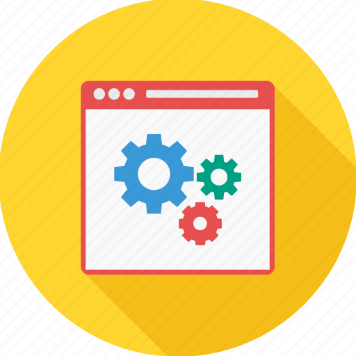 content management, page, setting, settings, web, website icon