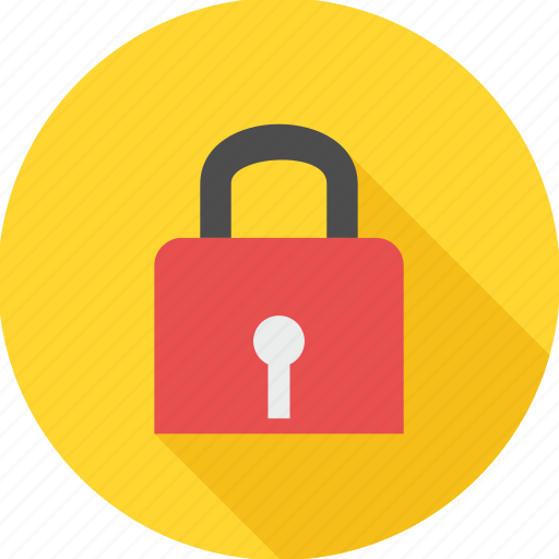 lock, locked, padlock, protection, safety, secure, security icon