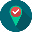 detect, find, gps, location, navigation icon