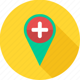 direction, find, gps, location, map, navigation, pointer icon