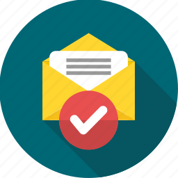 email, envelope, inbox, letter, mail, message, read mail icon