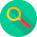 explore, magnifier, search, seo, view, zoom icon