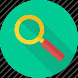 explore, magnifier, search, seo, view, zoom icon