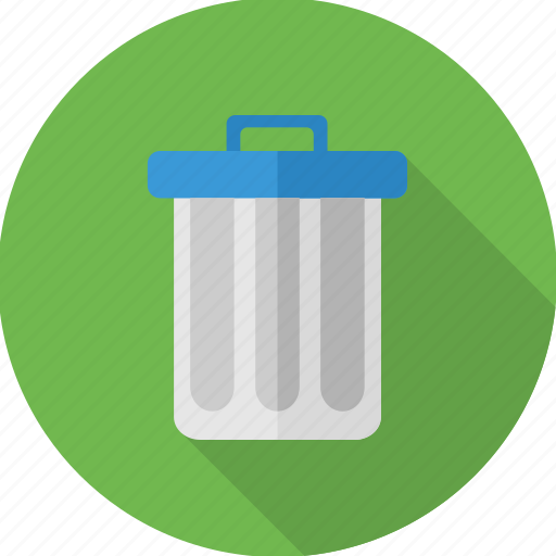bin, delete, dustbin, garbage, recycle, remove, trash icon