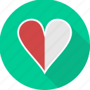 favorite, heart, love, romantic, sign, valentine icon