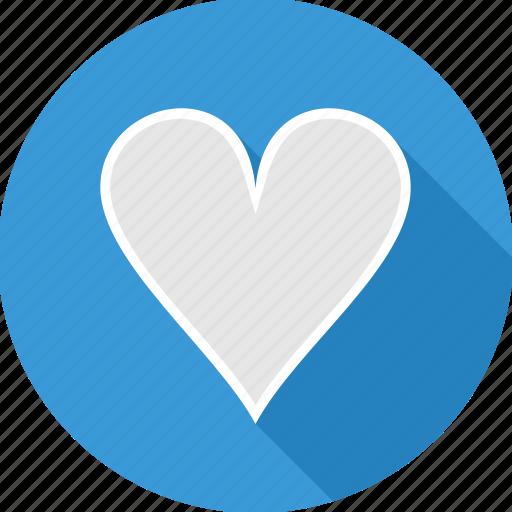 care, empty, heart, love, power icon