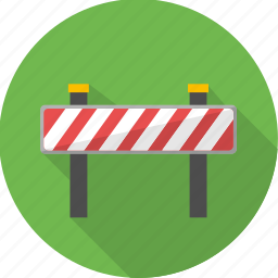 barrier, board, check post, plaza, sign, toll icon