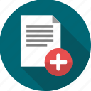 document, documents, files, page, paper, sheet, text icon