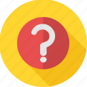 faq, faqs, help, info, question, question mark, sign icon
