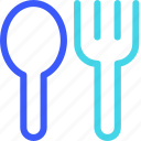 25px, fork, iconspace, spoon icon