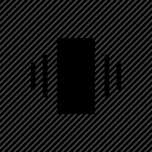 iphone, mobile, smartphone, vibrate icon