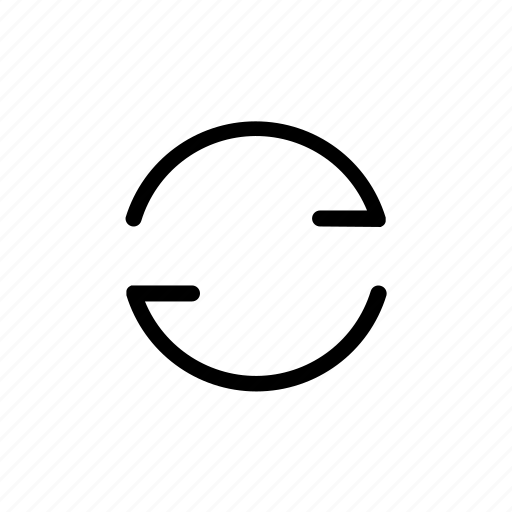 adapt, refresh, reload icon