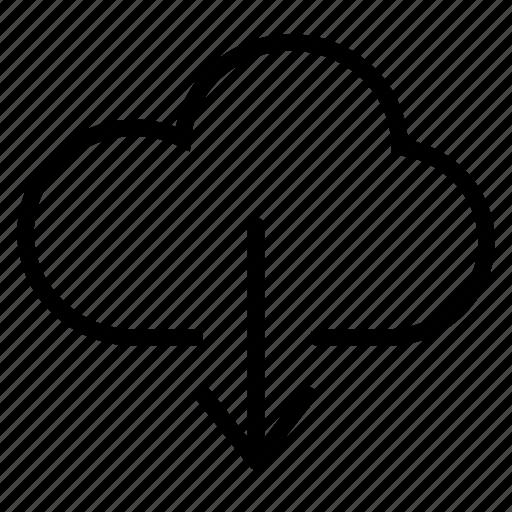 cloud, cloud export, download, icloud, user interface icon
