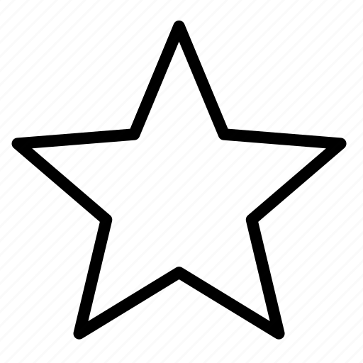 favorite, star, user interface icon