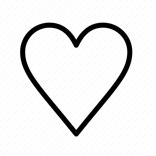 heart, like, love, user interface icon