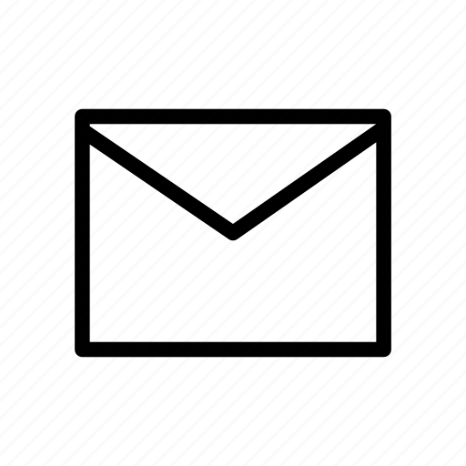 mail, message, send, unread, user interface icon