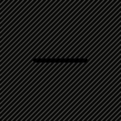 minimalise, user interface icon