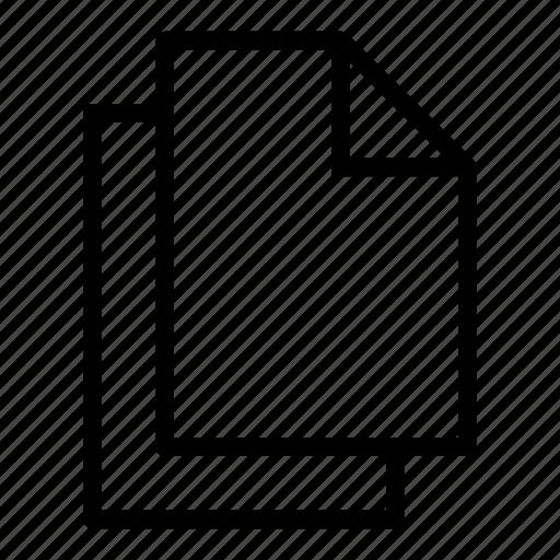 copy, docs, duplicate, files, multiple, paste, user interface icon