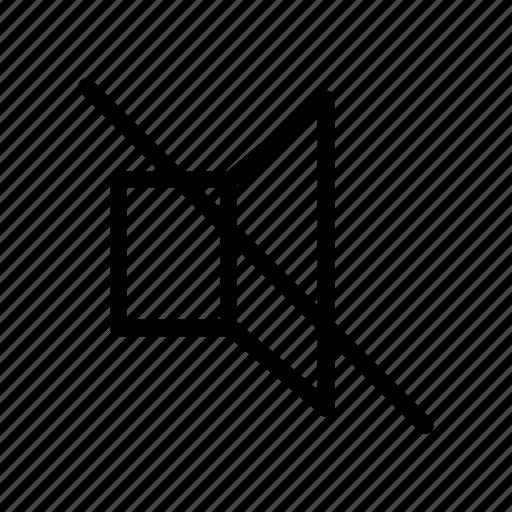 mute, no sound, sound, user interface icon