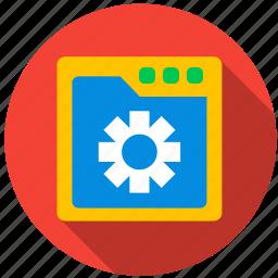 assembler, byte, code, computer, cpu, information icon