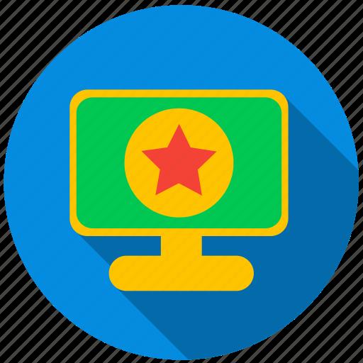 application, danger, monitor, price, program, screen icon