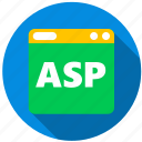 application, asp, danger, monitor, program, screen icon