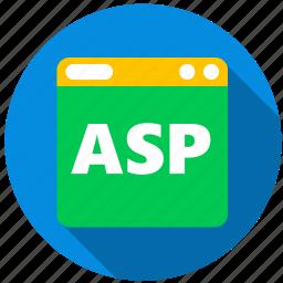 application, asp, danger, monitor, program, screen icon