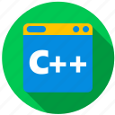 application, c ++, game, object, program, programming icon