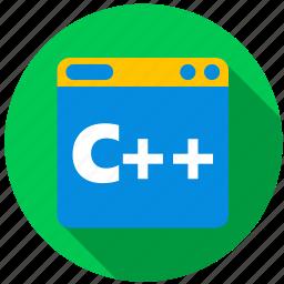 application, c ++, game, object, program, programming icon