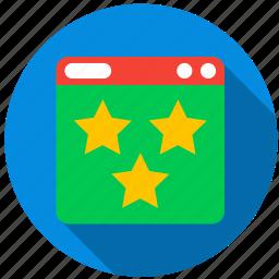 application, danger, favorite, monitor, program, screen icon