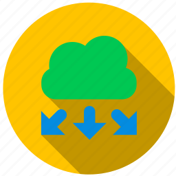 appraisal, cloud, data, graph, points, variables icon