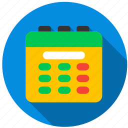 calendar, date, day, month, notebook, planner icon