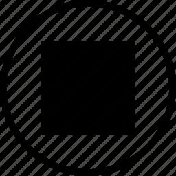 outline, rectangle, shape, square, squaretool, tool icon
