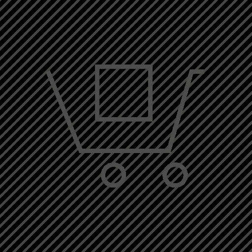 basket, buy, cart, item, sell, shopping, stock icon