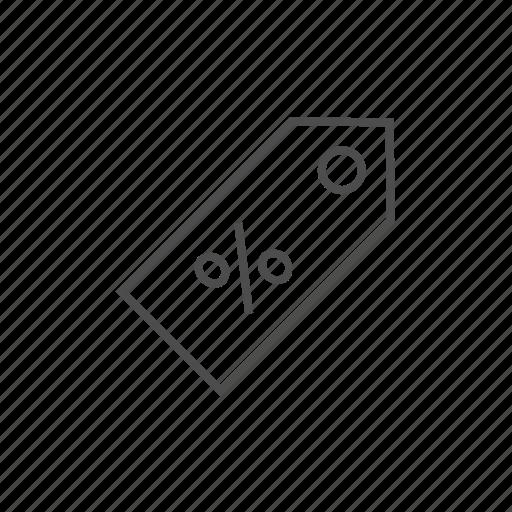 bill, discount, percent, price, price tag, sale, sales icon