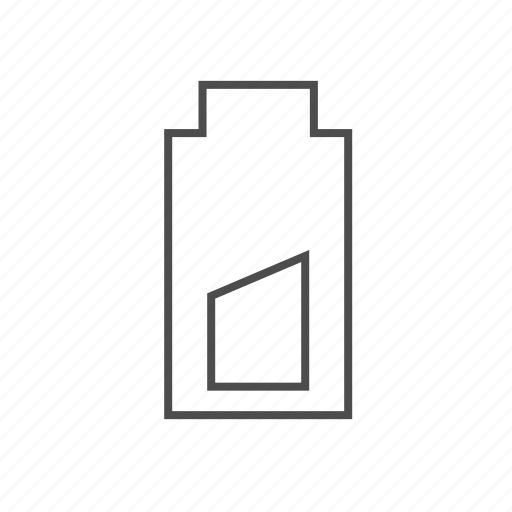 battery, charging battery, energy level, half power, mobile battery, power level icon