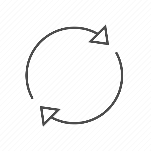 circle arrows, load, loading, spin, spinnnig, synchronize, syncing icon