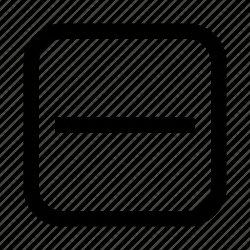 Minus, remove, delete, cancel, close icon - Download on Iconfinder