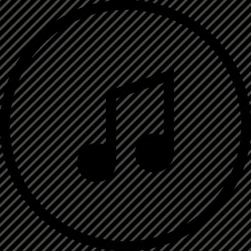 audio, melody, music, ringtone, song, tune icon