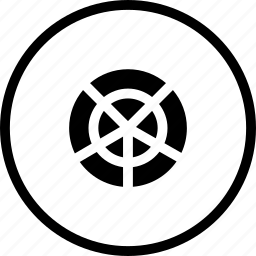 grid, grids, horizontal, polar, tool, verticalinterface icon