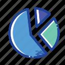 analisys, data, pie chart icon