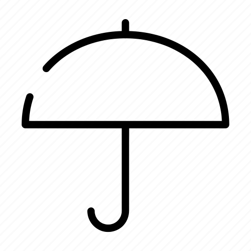 protect, protection, rain, safety, umbrella, weather icon