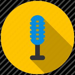 microphone, music, radio, recording, sound, studio icon