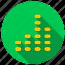 alarm, chart, ringtone, signal, sound, volume icon