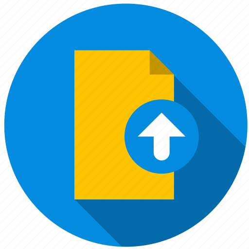 content, data, document, file, information, upload icon