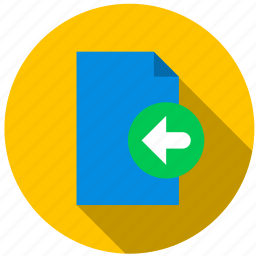 back, content, data, document, file, information icon