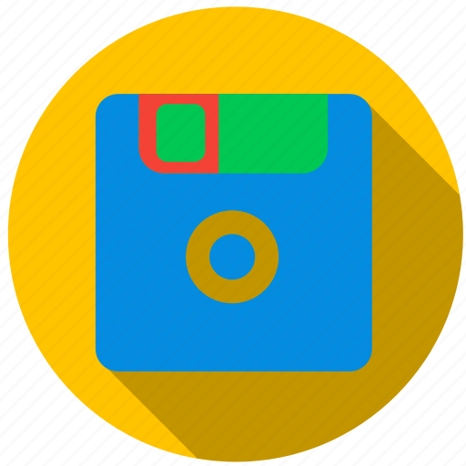 data, disc, file, floppy disk, information, media icon