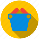 basket, customer, sale, shop, shopping, vendor icon
